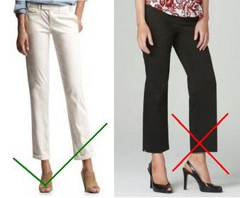 What type of capris pants for body types