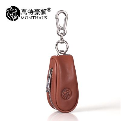 New Key Holder Men And Women Genuine Leather High Capacity Men Keys The Whole Package Leather Key Bag Women Coin Purse Card pack & set 10569100357