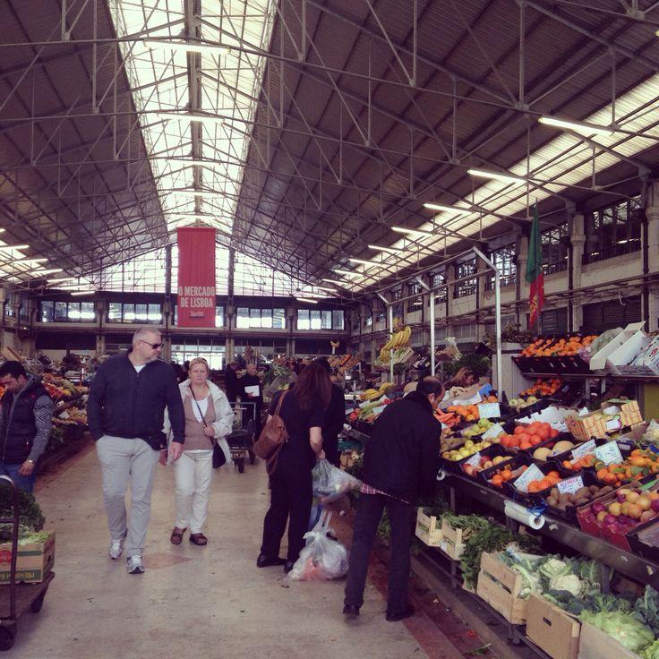 Market Tour @Mercado da Ribeira, Lisboa, Portugal