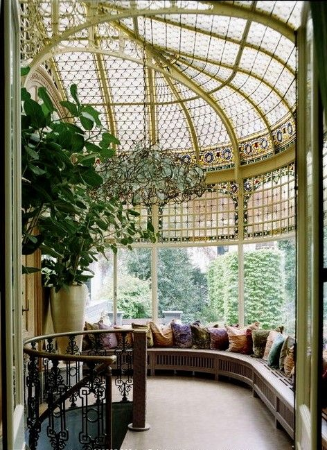 Pin by dubai on castle interior pinterest gardens on for Atrium garden window