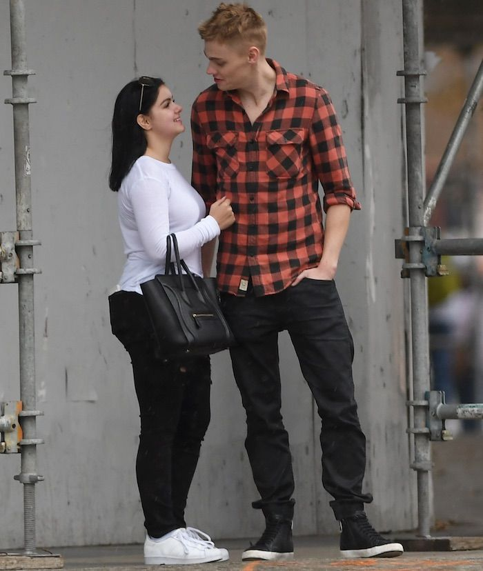 Ariel Winter and her new boyfriend Levi Meaden out in West Hollywood on November 26, 2016