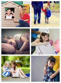 Emotion cards for kids from no time for flash cards