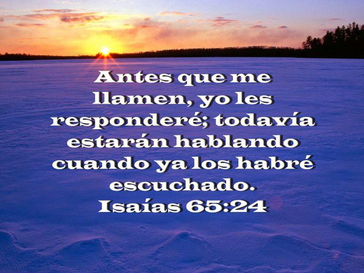 Isaías 65:24