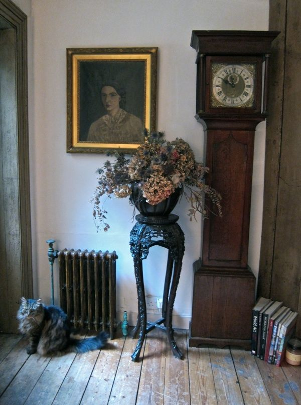 entry way in 18th century East London house as it looks today