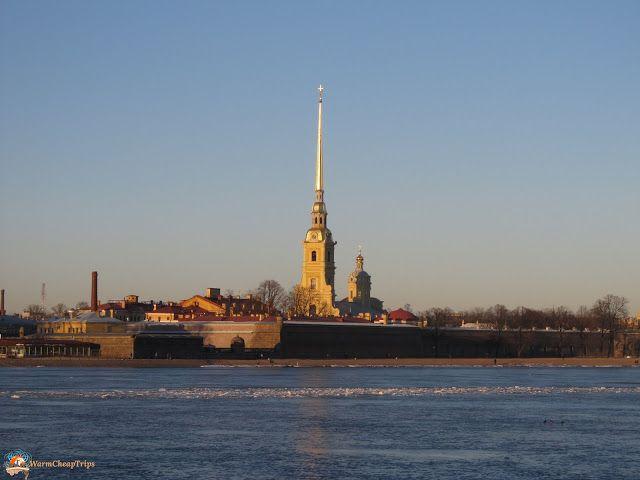 San Pietroburgo dall'alto