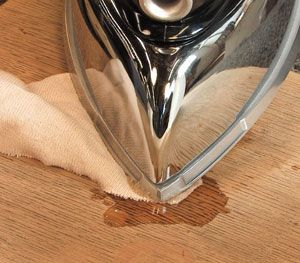Repair Wood Furniture: How to Steam Out Dents