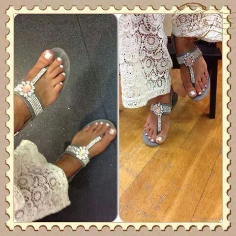 Amazing sandal totaly sued handmade in Greece by Niki's Handmade
