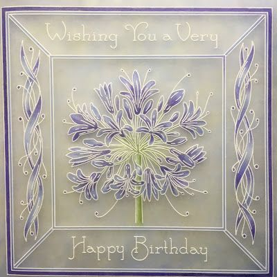 Barbara Gray's Blog. One Day at a Time.: A Blue Agapanthus