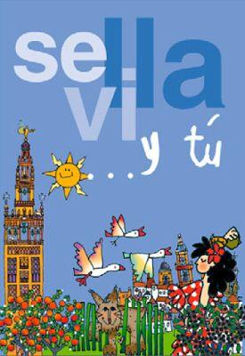 Mapa de Sevilla para niños