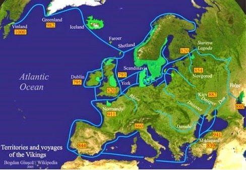 Les femmes Nordiques ont joué un rôle central dans les implantations Viking en Grande-Bretagne et dans d'autres parties de l'Atlantique Nord.