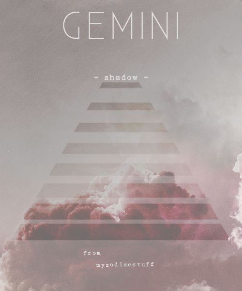 Gemini in its pure form is beyond opinions. With being no more judgmental than a mirror, it simply observes. Suspicious of grand schemes, of ultimate Truths, the Twins piece together a web of clues, always hesitating to draw a premature conclusion. Intuitively, they sense that anything can be proven with the facts. #Gemini