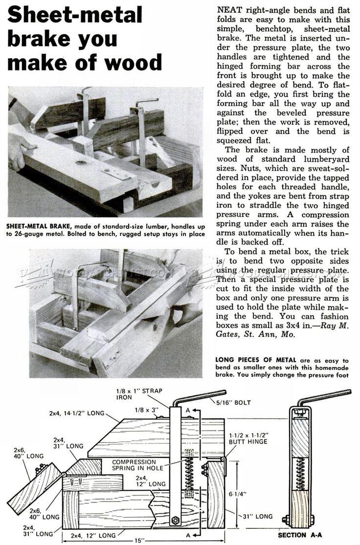 47 best woodworking techniques images on pinterest for Metal blueprints