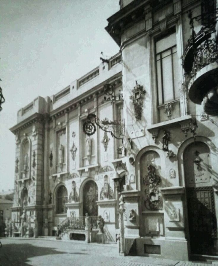 Casa Ion Kalinderu (arh. I.D. Brătianu 1906-1916)