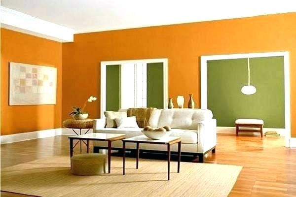 Two Tone Paint Ideas Wall Colors Walls Living Room Medium Size 2 For Cars Earth Sherwin Wil Living Room Wall Color Living Room Orange Living Room Color Schemes