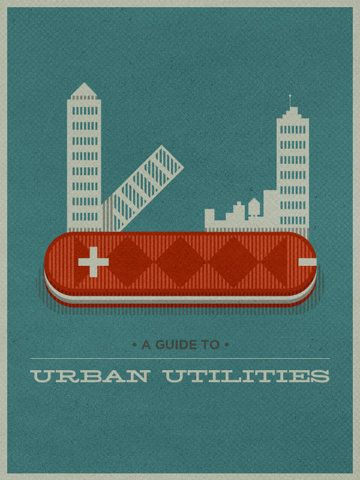 Urban Utilities: Urban Outfitters, Urban Survival, Logos Design, Graphics Design, Graphics Posters, Swiss Army Knifes, Urban Utility, Justin Mezzel, Justinmezzel