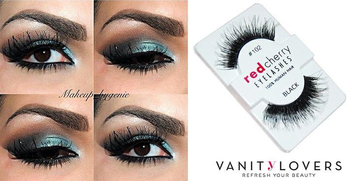 Occhi grandi, da cerbiatta… #RedCherry #102.http://www.vanitylovers.com/redcherry-eyelashes-102-chakra.html?utm_source=pinterest.com&utm_medium=post&utm_content=vanity-lovers&utm_campaign=pin-vanity