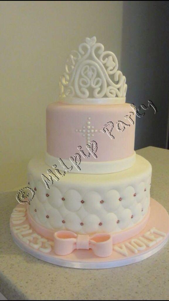 Princess Christening Cake