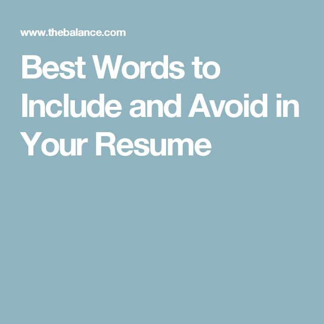 Words to Avoid on a Resume with a Headhunter Resume Writing - video producer resume