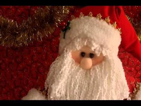 Muñecos Navideños: Santa Elegante