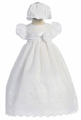 briana's dress for her baptism!! we finally picked it out !!!