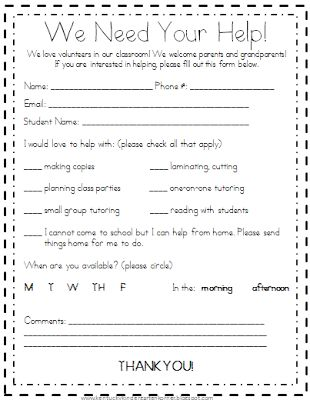 It is a picture of Crush Room Parents Letter