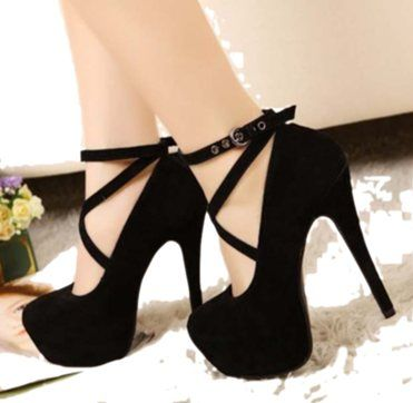 Cute high heel shoes that will rock your night out at the town with your girls!
