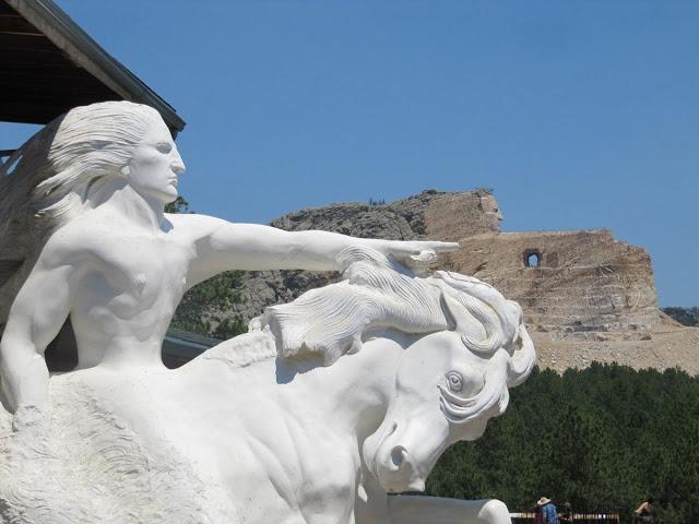 Crazy Horse Memorial, el monumento a Caballo Loco