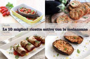 Le 10 Migliori ricette con le melanzane .... melanzane ripiene semplici
