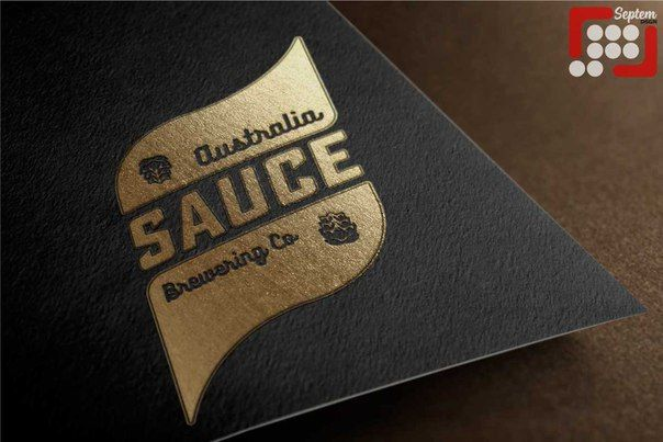 Logo for Sauce Brewing Co