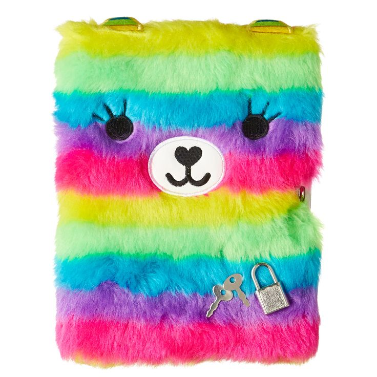 Fluffy Friend Lockable Notebook | Smiggle UK