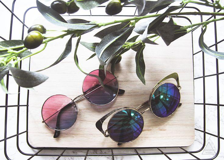 Kesän väriset aurinkolasit