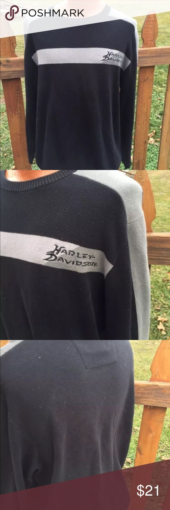 Harley Davidson Mens Sweater Size XL Size xl. Super gently preowned. Be sure to view the other items in our closet. We offer both women's and Mens items in a variety of sizes. Bundle and save!! Thank you for viewing our item!! Harley-Davidson Sweaters Crewneck