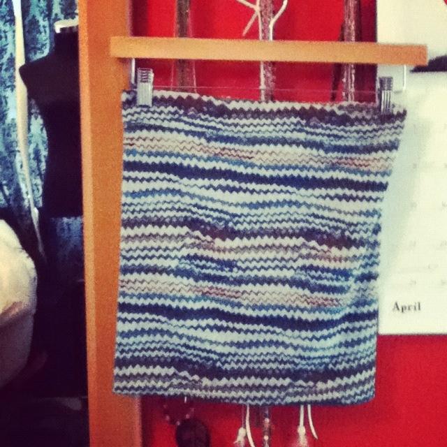 Tribal print skirt that I made