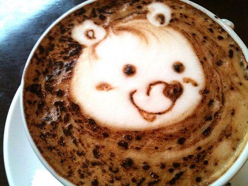Cappuccino Bear <3 So cool!