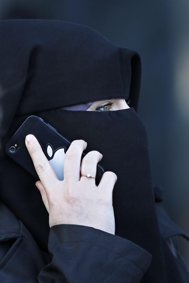 Niqab, Side ViewNiqab fashionMore Pins Like This At FOSTERGINGER @ Pinterest