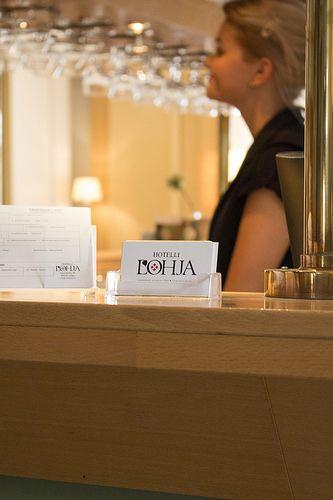 Business card, Hotelli Lohja | by visitsouthcoastfinland #visitsouthcoastfinland #Lohja #Finland #hotel #hotellilohja