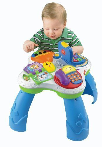 30 best fisher price toys images on pinterest baby gifts baby fisher price laugh learn fun with friends musical table by fisher price publicscrutiny Images