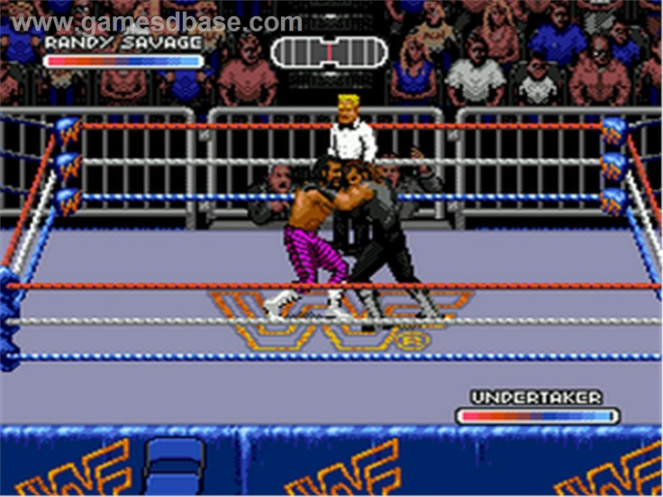 WWF Royal Rumble for Sega - DOINK THE CLOWN, oh yeah