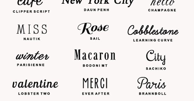 createcph: 25 Free Romantic Fonts