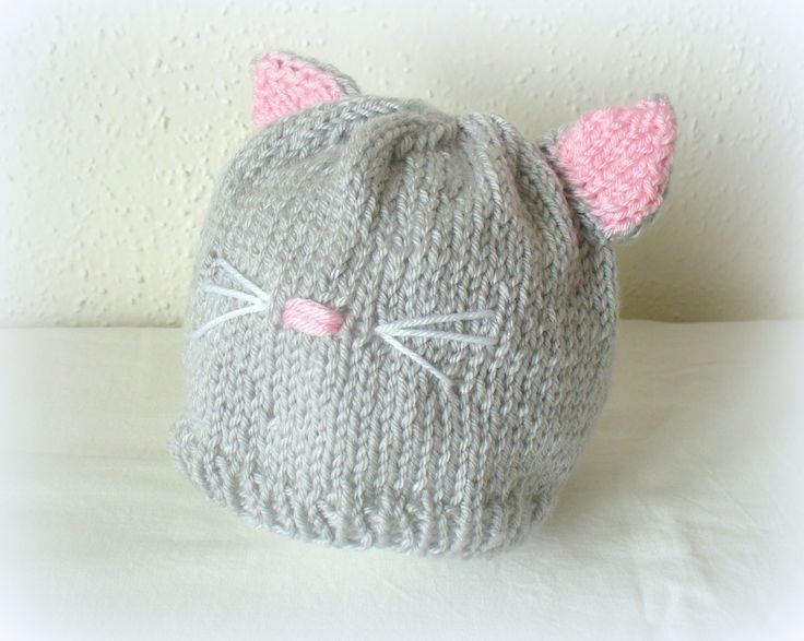knit beannie Pretty Kitty