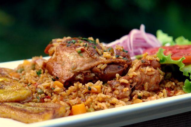 Arroz con pollo or chicken rice