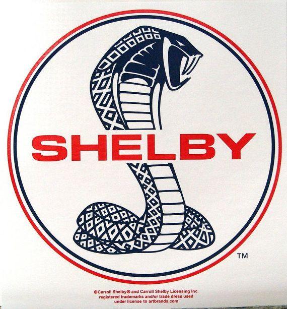 Carroll Shelby White Cobra TShirt Sizes M L by firelandsteeshirts, $14.99