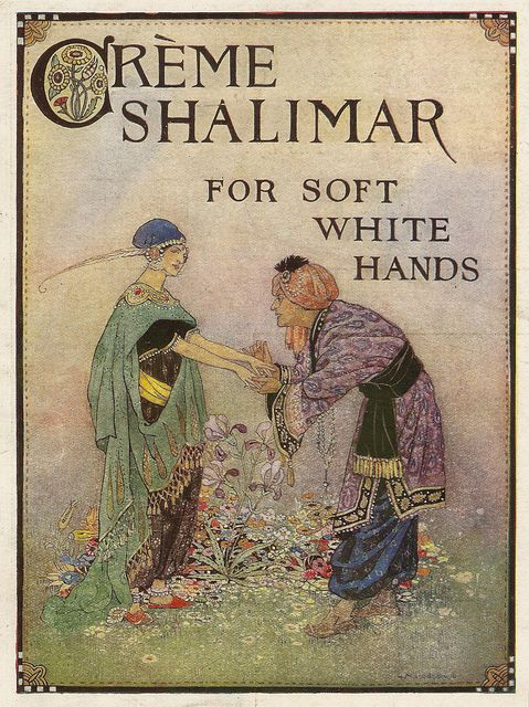 Creme Shalimar - advert issued by Dubarry Perfumes of London, 1917