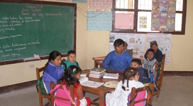We are water dla szkół w Boliwii.