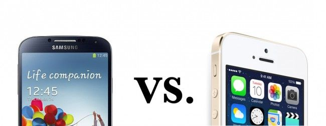 iPhone 5S vs Samsung Galaxy S4 (spec comparison) - Gadget Review
