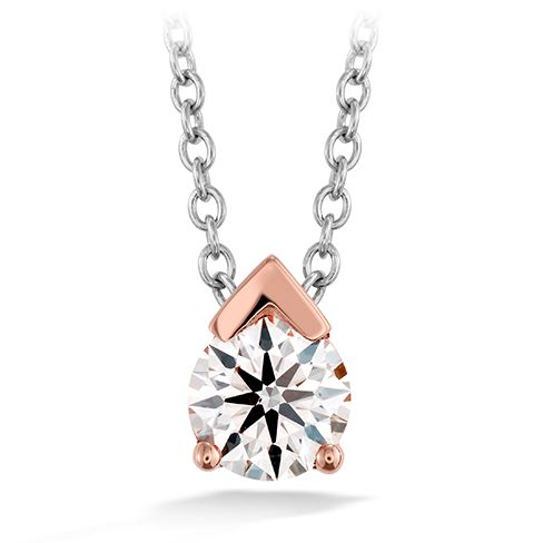 The Aerial Single Diamond Pendant, comes in rose, white, and yellow gold!   http://www.heartsonfire.com/shop-jewelry/Necklaces/Aerial-Single-Diamond-Pendant.aspx