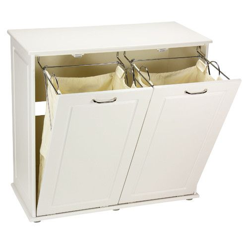 Household Essentials Tilt-Out Laundry Sorter Cabinet