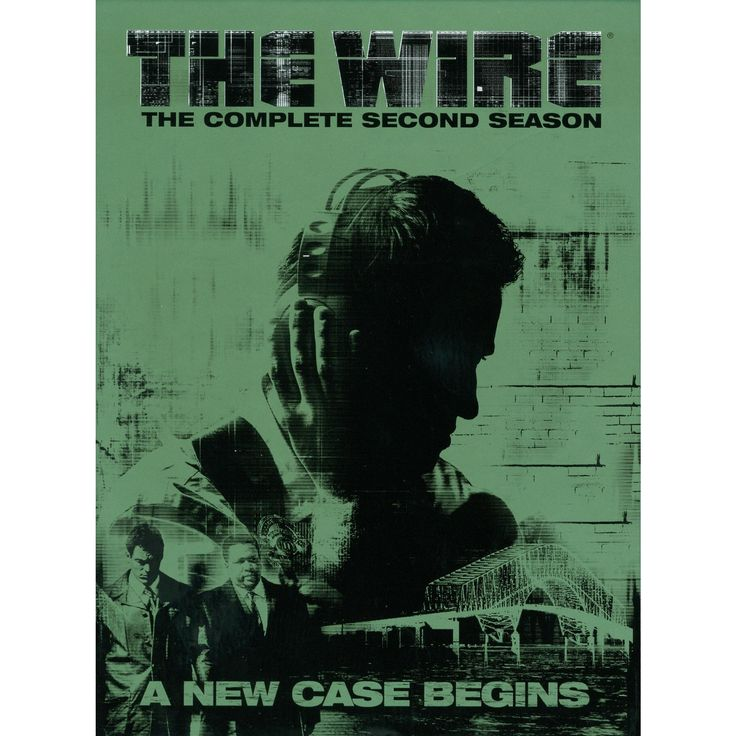 The Wire: The Complete Second Season (5 Discs) (dvd_video)