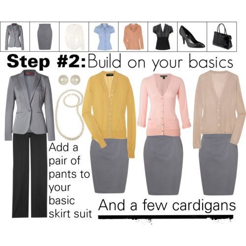how to build a professional wardrobe