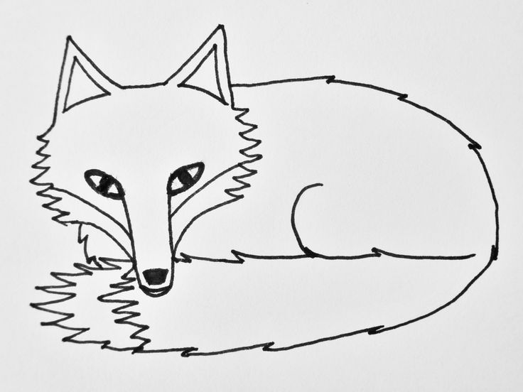 Want to get in a bit more drawing practice? Well here's a photo tutorial taking you through the process of how to draw a curled-up, sleepy fox.